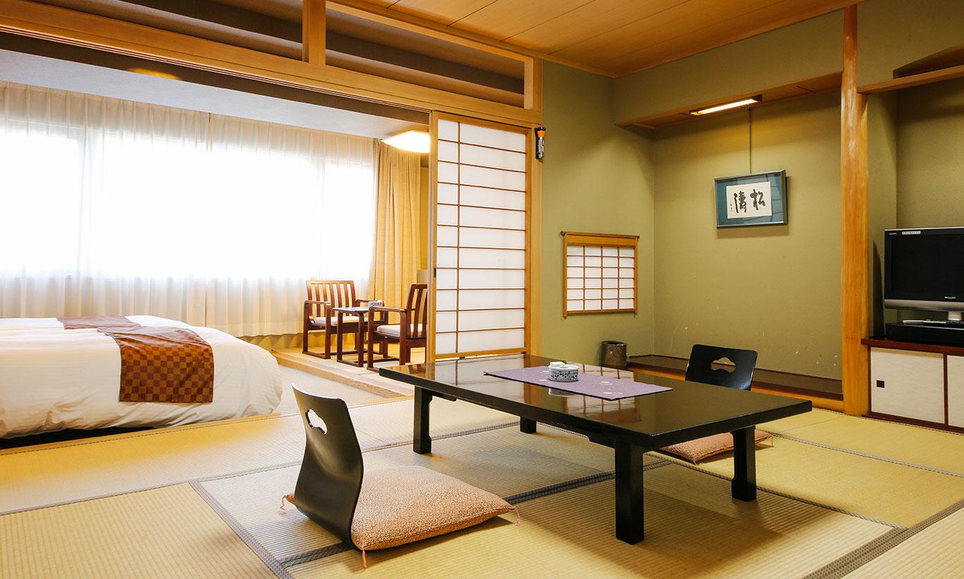 산스이칸 일본식&서양식 절충 객실