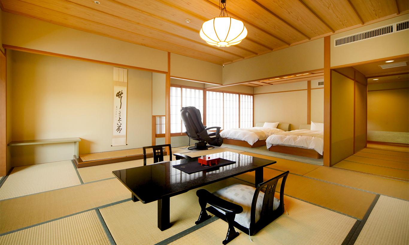 히텐칸 다다미&침대 룸
