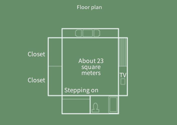 Sansui-kan  Japanese-style room Floor Plan
