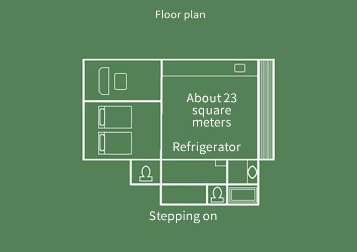 Hiten-kan  Japanese-style-room bedroom  Floor Plan