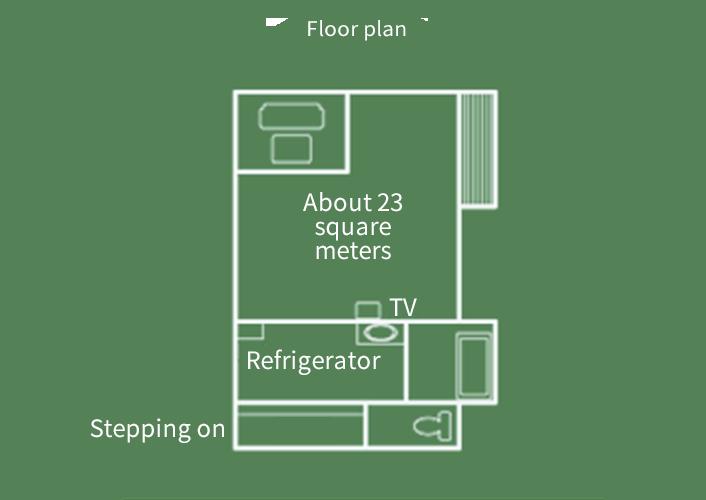 Hiten-kan  Japanese style room Floor Plan